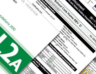 SBEM Calculation L2A Certificate Compliance 4 Buildings