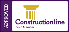 Construction Line Gold Logo